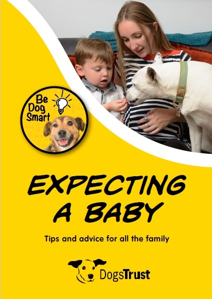 Dogs Trust Expecting a Baby leaflet
